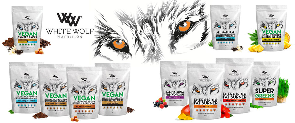 White Wolf Nutrition All Natural & Vegan Protein Powders