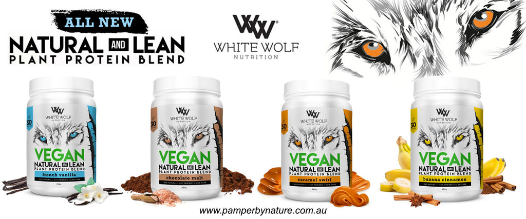 White Wolf Nutrition Vegan Protein Blend | Pamper by Nature