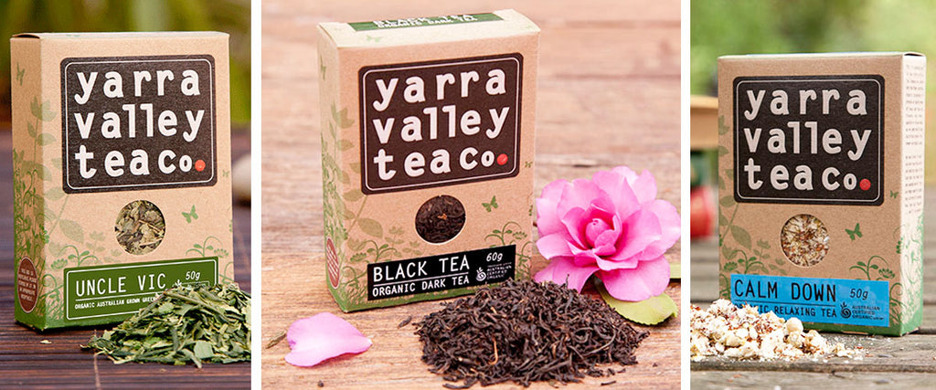 Yarra Valley Tea Co Organic Tea Banner