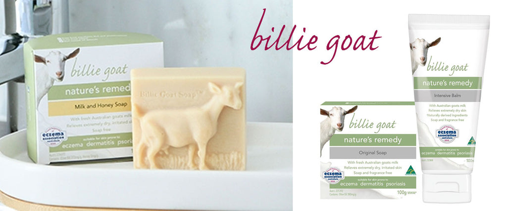 Billie Goat - Goats Milk Soap, Body Wash & Balm