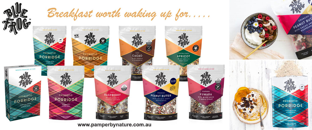 Blue Frog Cereal | Pamper by Nature