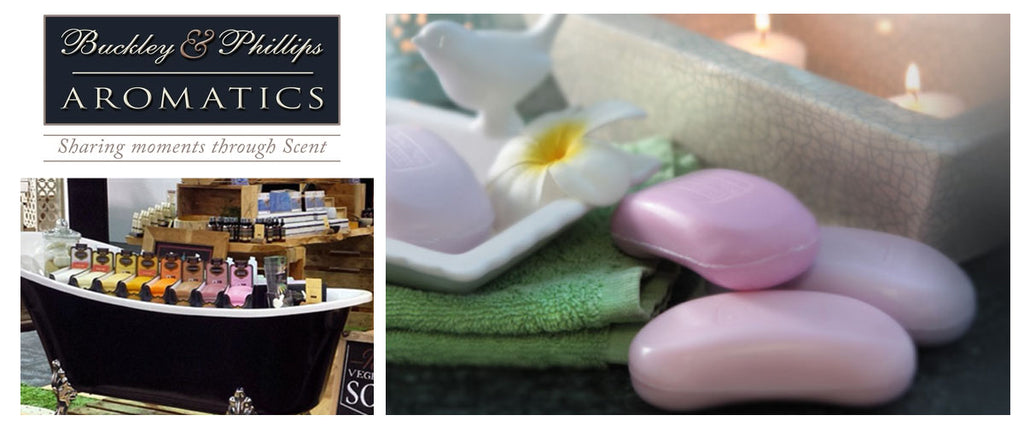 Buckley & Phillips Aromatics | Pamper by Nature