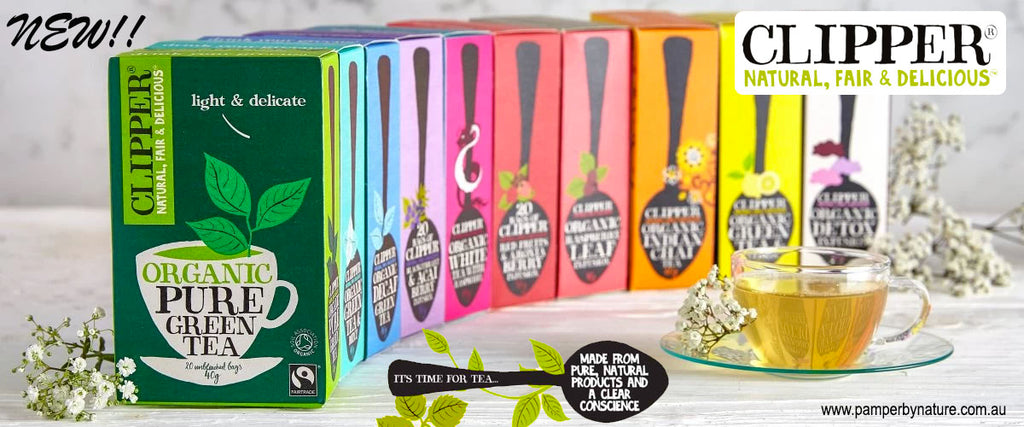 Clipper Organic Tea   Buy Online - Pamper by Nature