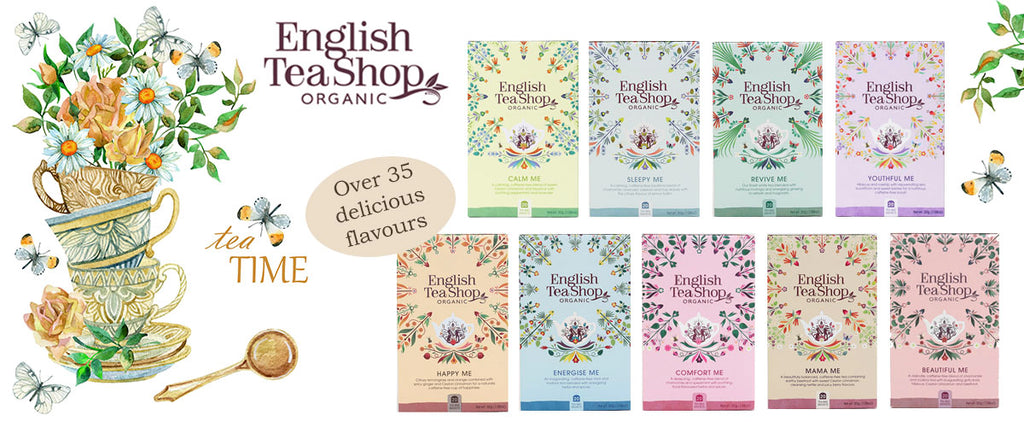 English Tea Shop Organic Tea | Pamper by Nature