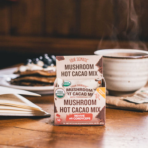 Four Sigmatic Mushroom Cacao Mix with Cordyceps