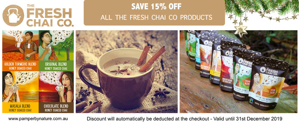 The Fresh Chai Co Sale - Pamper by Nature