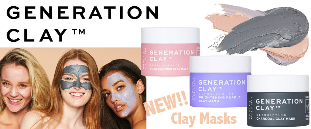 Generation Clay Face Masks - Pamper by Nature