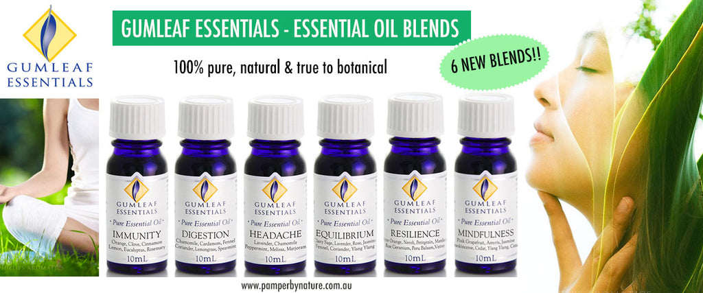Gumleaf Essentials - Essential Oil Blends - Pamper by Nature