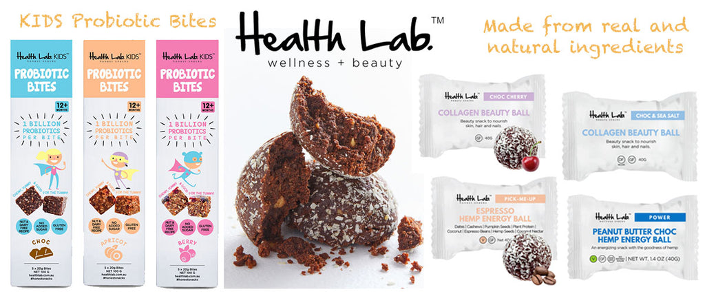 Health Lab Protein & Collagen Balls Online | Pamper by Nature