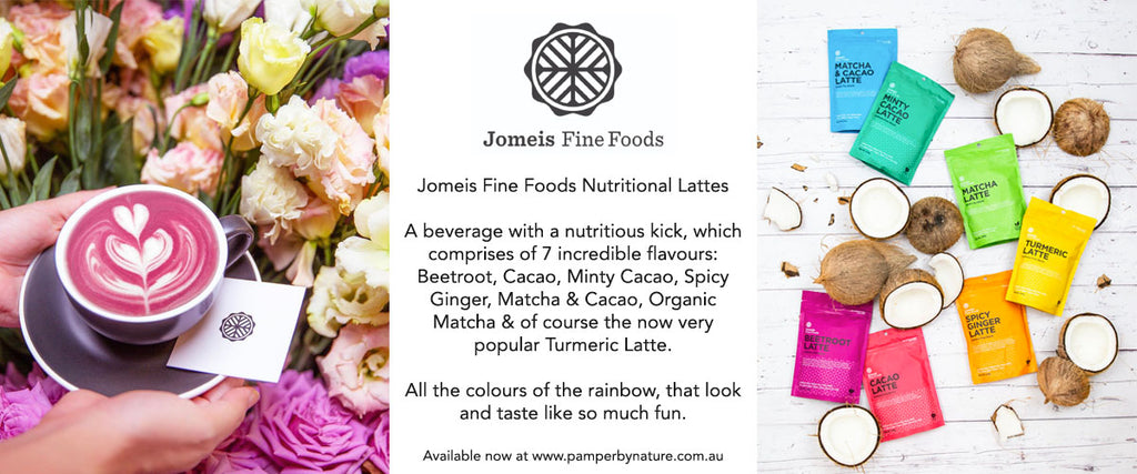 Jomeis Fine Foods Nutritional Lattes | Pamper by Nature