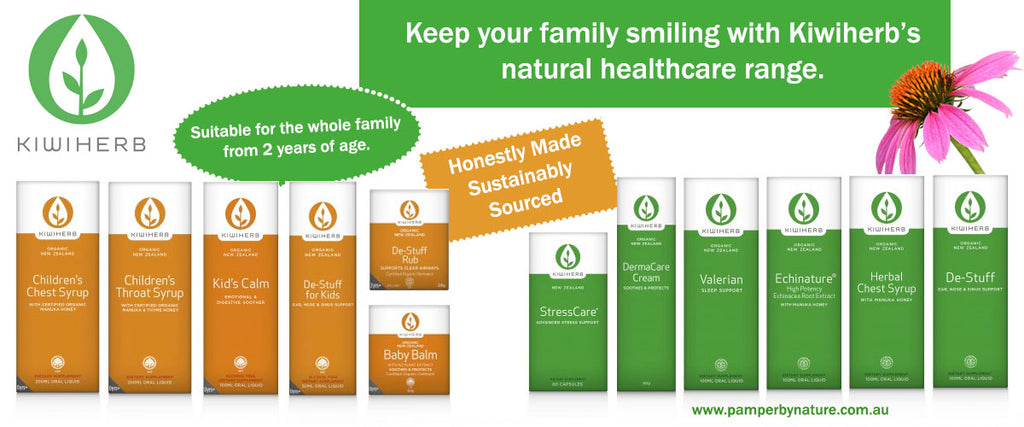 Kiwiherb Herbal Health Products | Pamper by Nature
