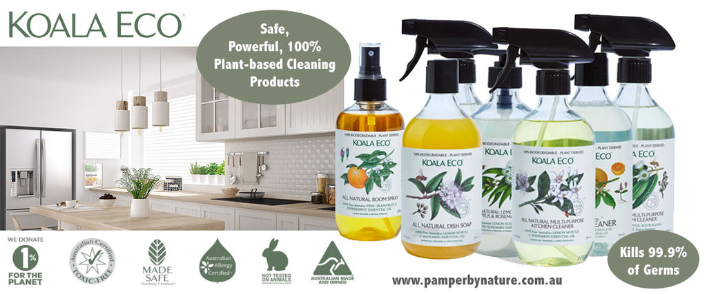 Koala Eco Friendly Cleaning Products - Pamper by Nature