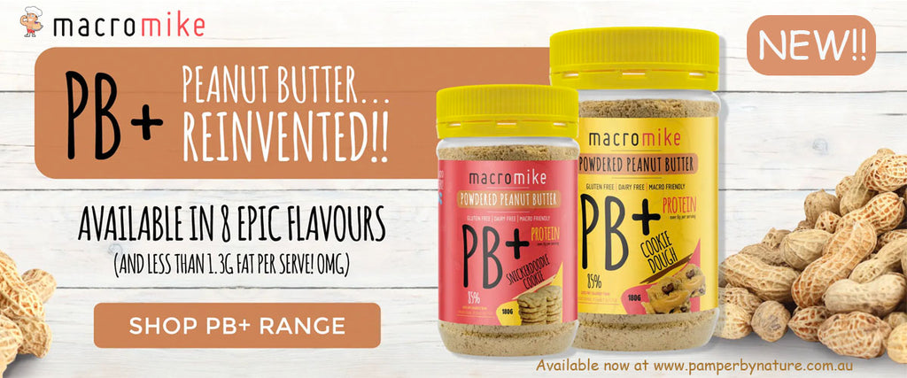 Macro Mike PB+ Powdered Peanut Butters - Pamper by Nature