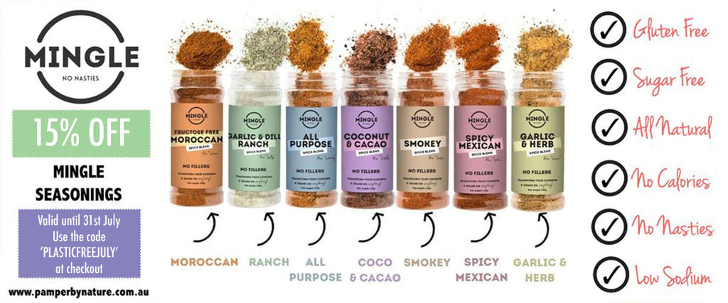 Mingle Seasoning No Nasties Gluten Free Full of Flavour | Pamper by Nature