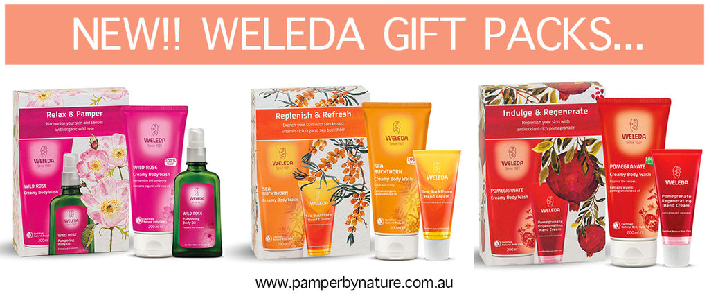 Weleda Natural Organic Skin Care & Body Care Gift Packs