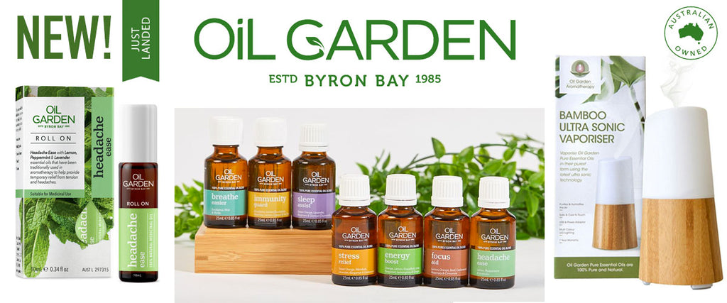 Oil Garden Aromatherapy 100% Pure Essential Oil Blends