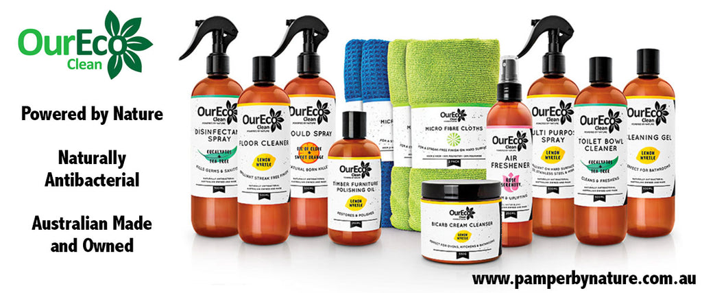Our Eco Clean Natural Home Cleaning Products