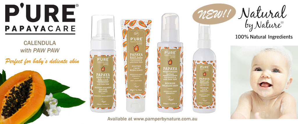 Pure Papaya Baby Care Products