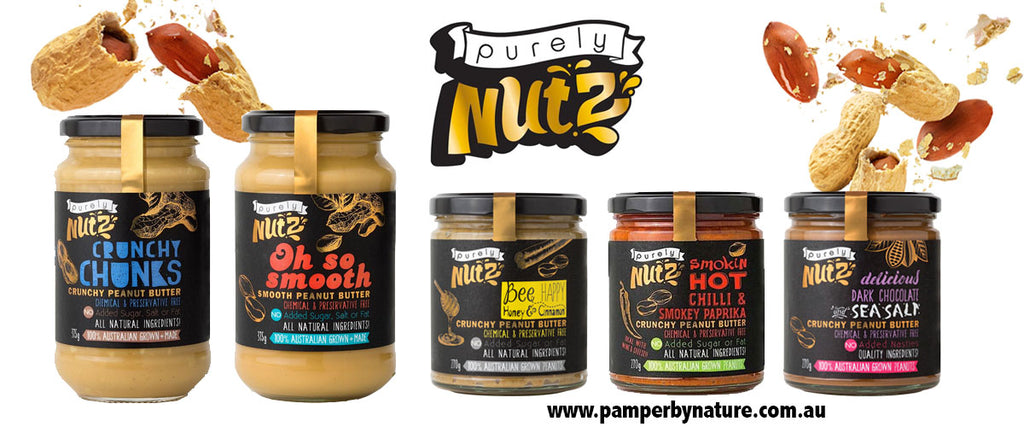 Purely Nutz Natural Peanut Butter - Pamper by Nature