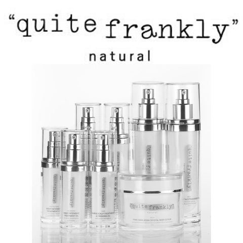 Quite Frankly Natural Luxurious, Organic Skincare and Makeup