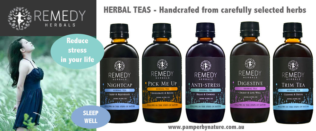 Remedy Herbals - Herbal Tea | Pamper by Nature