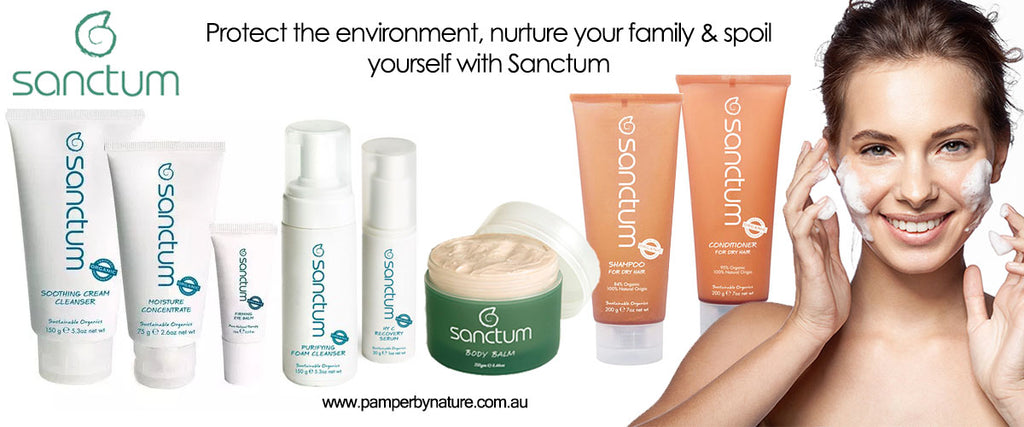 Sanctum Organic Skin Care - Pamper by Nature