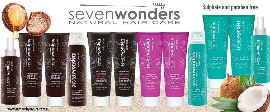Seven Wonders Hair Care - Pamper by Nature