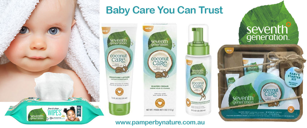 Seventh Generation Eco Friendly Baby and Cleaning Products