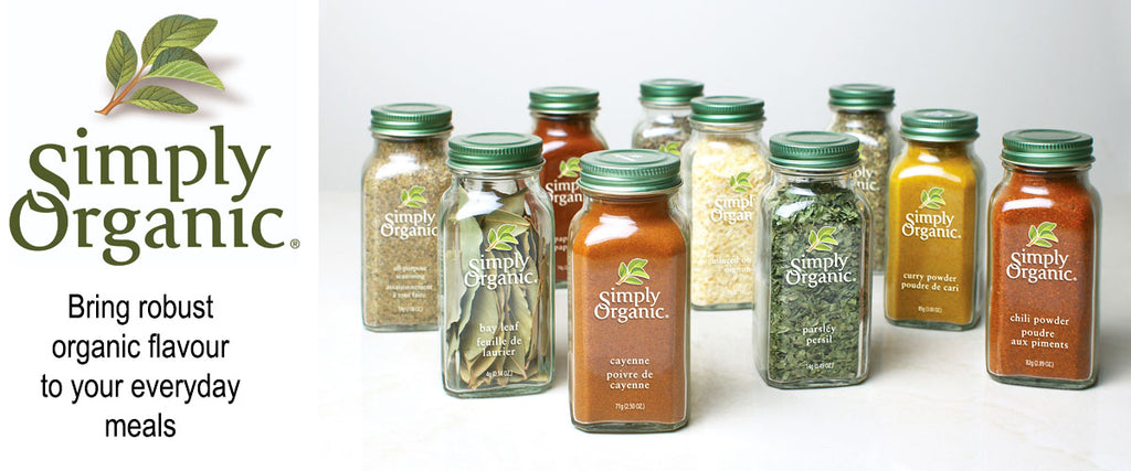 Simply Organic - Organic Spices & Seasonings