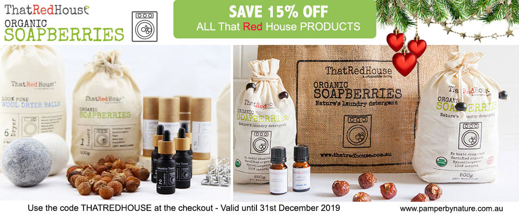 That Red House Soapberries Sale | Pamper by Nature