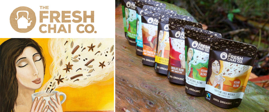 The Fresh Chai Co - 100% Organic Fairtrade Chai