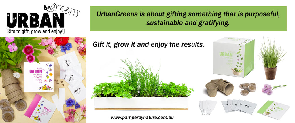 Urban Greens Grow Your Own Garden Kits