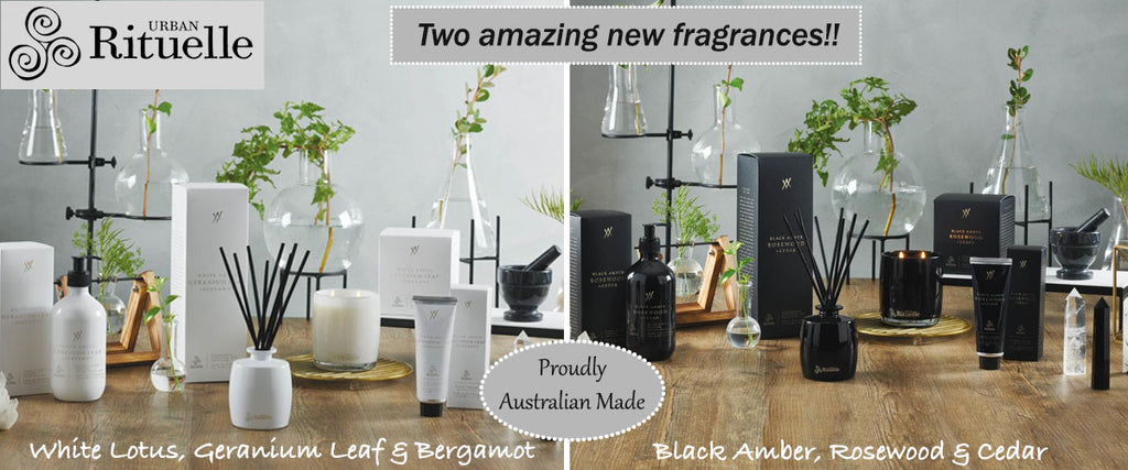 Urban Rituelle New Alchemy Range Home Fragrance