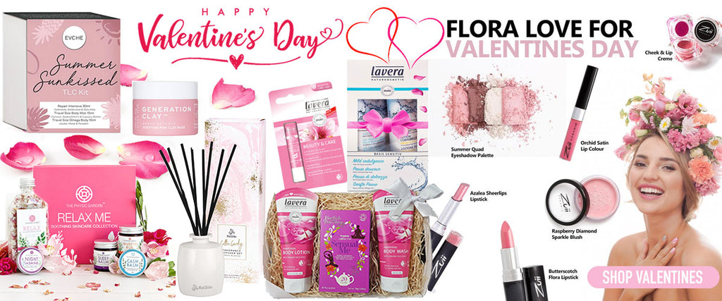 Valentines Day Natural & Organic Gifts - Pamper by Nature