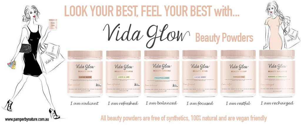 Vida Glow Beauty Powders - Pamper by Nature