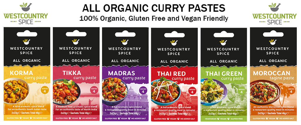 Westcountry Spice Organic Curry Paste - Pamper by Nature