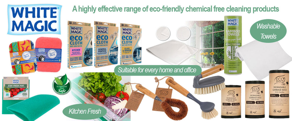 White Magic Eco Cleaning Products - Pamper by Nature