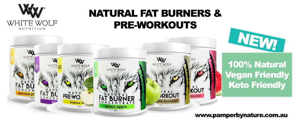 White Wolf Nutrition Natural Fat Burners & Pre-Workouts