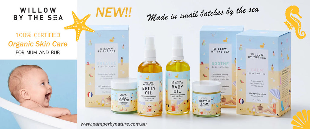 Willow By The Sea Organic Skin Care For Mum & Bub