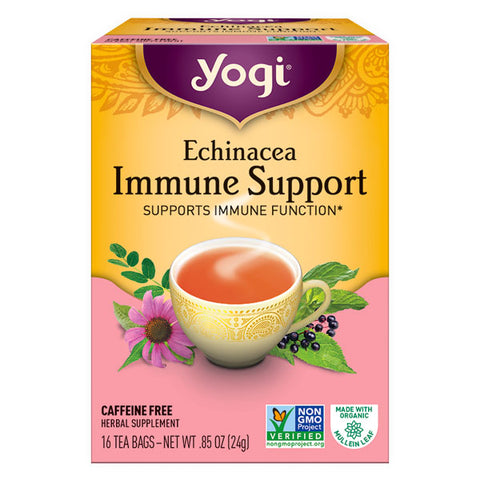 Yogi Tea Herbal Tea Bags - Echinacea Immune Support