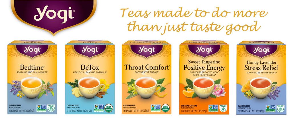 Yogi Tea - Delicious Herbal and Spice Teas