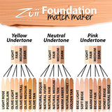Zuii Certified Organic Flora Liquid Foundation Match Maker