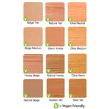 Zuii Certified Organic Flora Liquid Foundation Colour Chart