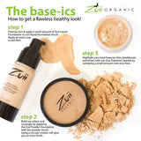 Zuii Certified Organic Flora Liquid Foundation - How to get a flawless healthy look