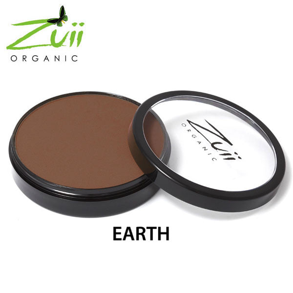 Zuii Certified Organic Flora Powder Foundation - Earth