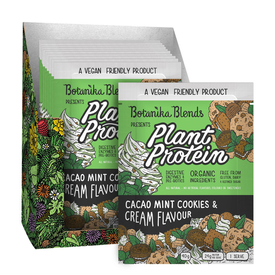 Botanika Blends Cacao Mint Cookies 'n Cream Plant Protein