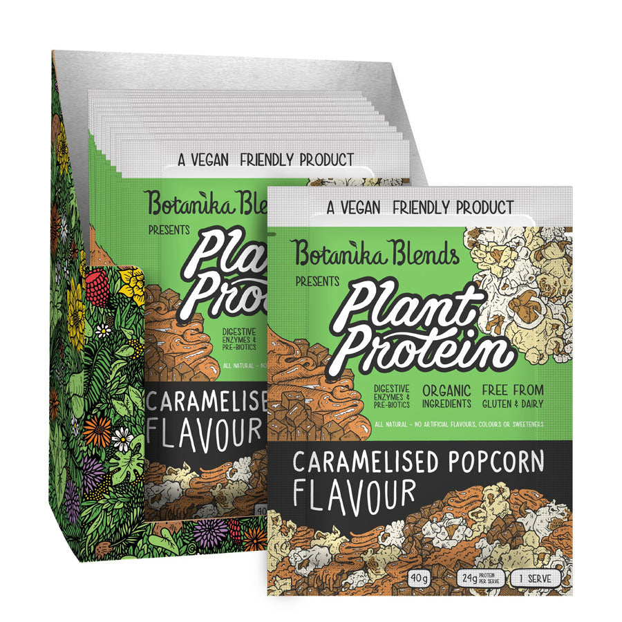 Botanika Blends Caramelised Popcorn Plant Protein 40g