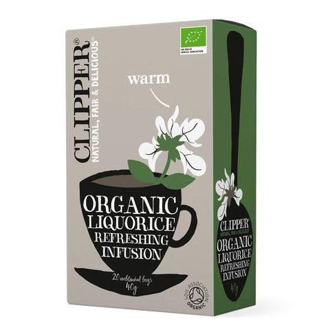 CLIPPER Organic Liquorice Infusion 20 teabags