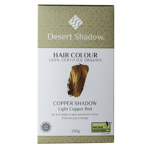 Desert Shadow Organic Hair Dye - Copper Shadow