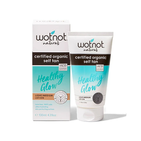 Wotnot Healthy Glow Certified Organic Self-Tan Lotion
